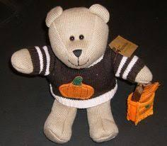 2009 Starbucks Autumn 85th Edition Bear - New with Tags