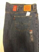 NWT men's regular fit Big & Tall Levi's 505 denim blue jeans 60 x 30   - $49.77