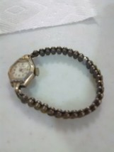 Vintage Helbros Lady's Wrist Watch with Flexible Band - $18.35