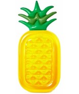 Inflatable Pineapple Pool Swimming Party Float Summer Large Ride Kids Ad... - $40.99