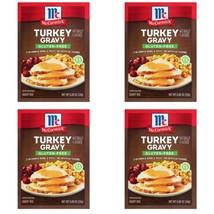 McCormick Turkey Gravy Herbs & Spices Mix Gluten Free (4 pkgs) Expires 2022 - $22.76