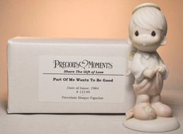 Precious Moments: Part Of Me Wants To Be Good - 12149 - Classic Figure - $17.81