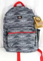 Dickies Black Geometric Shape Student Backpack  - $39.99