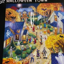 Vermont christmas company halloween town wollenmann 550 piece puzzle com... - $15.53