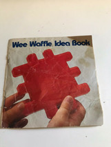 Vtg 1990 Rare Little Tikes Wee Waffle Blocks Instruction idea building booklet - $9.85