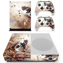 Swan Wallpaper decal xbox one S console and 2 controllers - $15.00