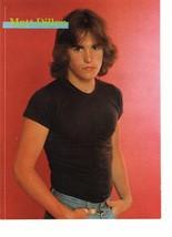 Matt Dillon teen magazine pinup clipping black t-shirt hands in his pocket Bop