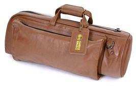 Dunkelbraun Gard Bags Weiche Tasche für Trompete Hoch Klasse Buffalo Leder - $304.45