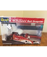 NEW REVELL LARRY MINOR RACING 1/25 SCALE MCDONALD'S RAIL DRAGSTER MODEL ... - $27.95