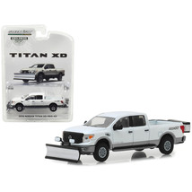 2018 Nissan Titan XD Pro-4X Pickup Truck with Snow Plow and Salt Spreade... - $13.59