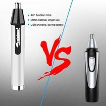 Nose Hair Trimmers Eyebrow Trimmers Ear Hair Trimmers Electric Shavers 4 in 1 US image 3