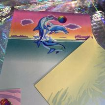 Lisa Frank Skeeter Seal Rainbow Reef Stationery & Stickers! Max Whale Dolphin image 8