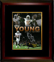 Vince Young signed Texas Longhorns 8x10 Photo Custom Framed (Rose Bowl C... - $116.95