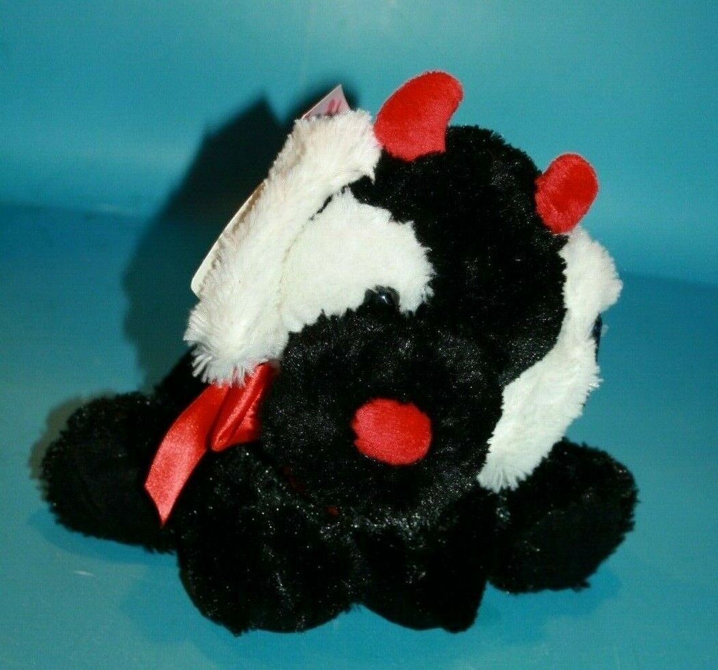 "Primary image for Russ Applause Stuffed Animal Dog 10"" Valentine Devil Plush 68401 Soft Red Black"