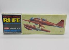 """Guillows 507 Nakajima A6M2-N Rufe Balsa Flying Model Kit NIB 16"""" Wingspan Sealed - $24.63"""