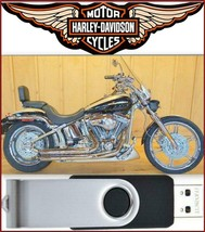 2003 Harley Davidson Softail Models Service Repair Manual On USB Flash Drive - $18.00