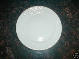 ROYAL WORCESTER GOURMET EMBOSSED LUNCHEON PLATE - $7.91