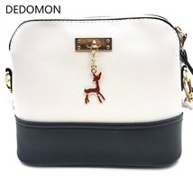 2019 Hot Women's Handbags Leather Fashion Small Shell Bag With Deer Toy ... - $13.11