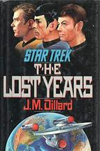 STAR TREK THE LAST YEARS by J M DILLARD Pocket Books 1989 1st Hardcover ... - $28.71