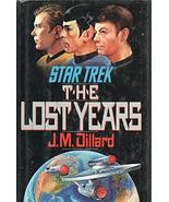 STAR TREK THE LAST YEARS by J M DILLARD Pocket Books 1989 1st Hardcover ... - $28.71