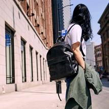Sale, Full Grain Leather Women Backpack, Handmade Travel Backpack, School Backpa image 1