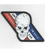 """4.75"""" NAVY VFA-2 SAFTB SATURDAYS ARE FOR THE BOYS SKULL EMBROIDERED PATCH - $23.74"""