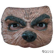 Adult's & Kids' Half Wolf Mask - £7.29 GBP