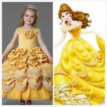 Princess Belle dress Belle Costume for girls kids  - $89.00