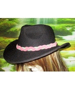 American Made! Multi Colored Braided Leather Hat-Band, Suede Leather  - $23.95