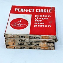 Perfect Circle Lot of 4 Piston Ring Set S5289 STD .010 For Ford 292 Y Block - $21.40