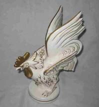 "Cute Vintage 9 1/2"" LEFTON Chicken Rooster Figurine - $24.00"