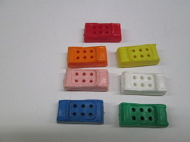 Vintage 1960 Milton Bradley The Game Of Life Car token replacement parts - $4.90