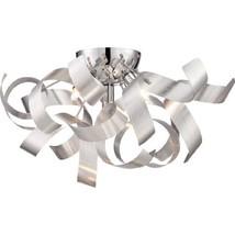 Quoizel RBN1616MN Ribbons Modern Flush Mount Ceiling Lighting 4-Light, X... - $210.08