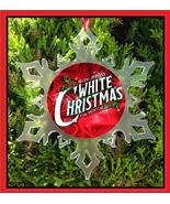 WHITE CHRISTMAS THE MUSICAL CHRISTMAS ORNAMENT - BROADWAY X-MAS SNOWFLAKE - $12.95