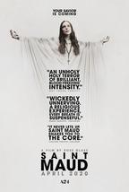 Saint Maud Poster 2019 Rose Glass Horror Movie Art Film Print 24x36 27x4... - $9.90+