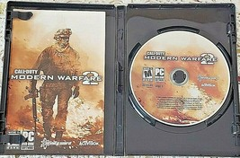 Call of Duty Modern Warfare 2 Game PC DVD ROM Software Mature 17+  Excellent - $13.90