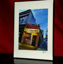 """""""HOLY FRIJOLES"""" - HAMPDEN by Robert McClintock-5"""" X 7' Framed-Mint! - $11.83"""