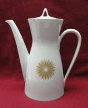 ROSENTHAL China - STAR of DAWN Pattern (Classic Modern) - COFFEE POT - $49.95
