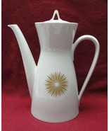 ROSENTHAL China - STAR of DAWN Pattern (Classic Modern) - COFFEE POT - $49.95