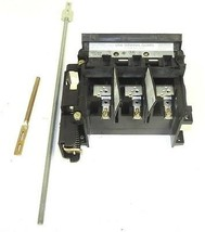 ALLEN BRADLEY 1494V-DS30 DISCONNECT SWITCH LEFT HAND 30AMP 600VAC SER. A