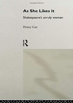 As She Likes It (Gender in Performance) [Paperback] Gay, Penny image 2