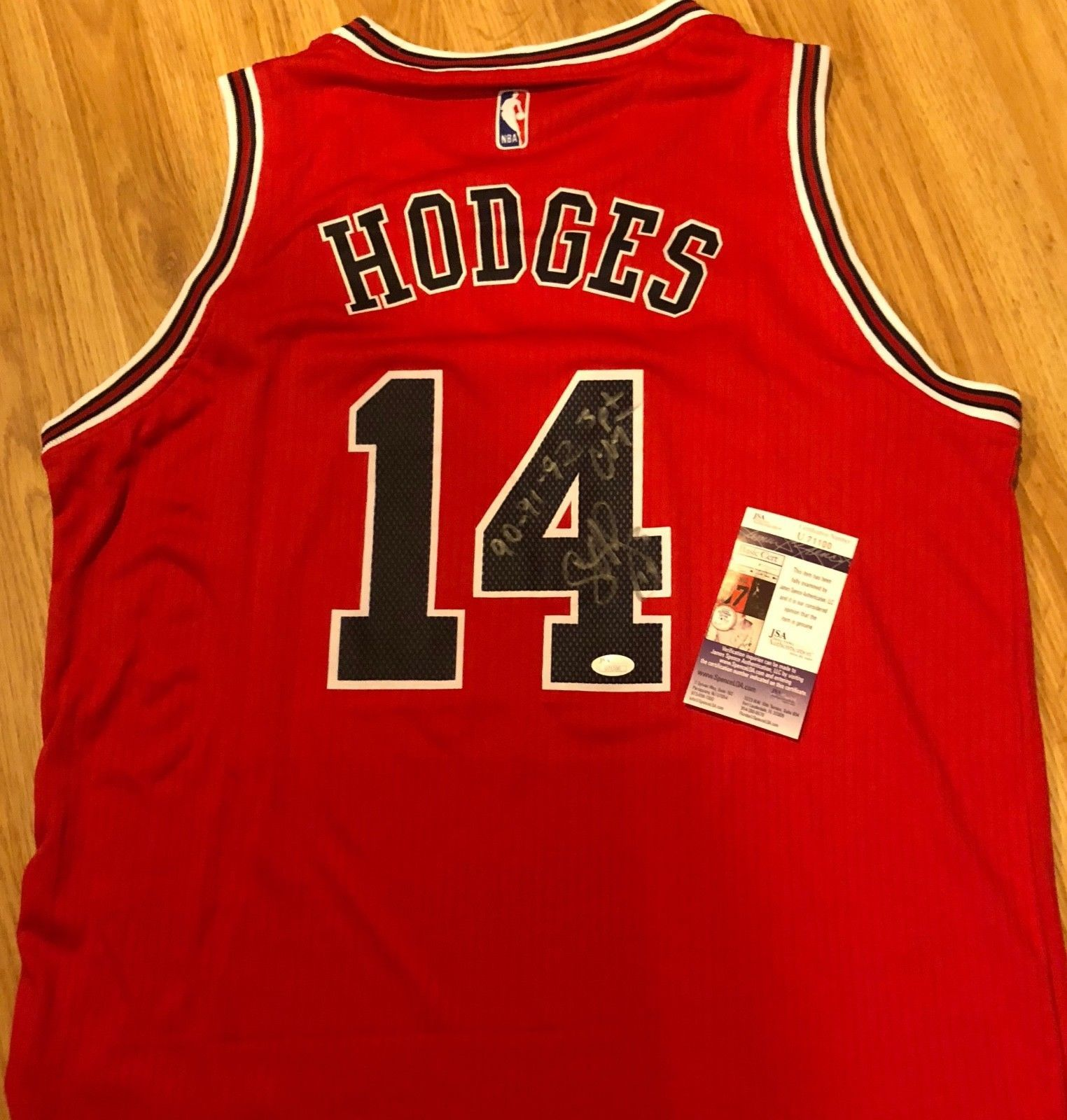 eaa8e1ba63b Craig Hodges Signed Auto Chicago Bulls and 42 similar items. S l1600