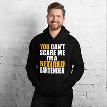 Retired Bartender Hoodie, Funny Bartender Gift Idea, Retirement Gift for... - $34.95+