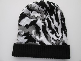 Collectioneighteen Knit Strand Women's Beanie Winter Hat Black White Gra... - ₨932.42 INR