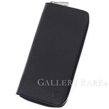 Louis Vuitton Zippy Wallet Vertical Taurillon Noir M58412 Authentic 4649991 - $1,010.38