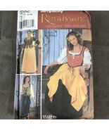 Renaissance Maiden Costume Sewing Pattern 12-20 Simplicity 5582 Andrea S... - $13.02