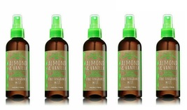5 Bath & Body Works Almond & Vanilla Essential Oils Fine Fragrance Mist 6 fl oz - $25.99