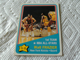 1971/72  TOPPS  # 165   WALT  FRAZIER  1st  TEAM  ALL- STAR   KNICKS  BA... - $24.99
