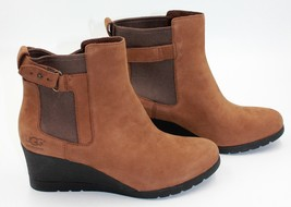 UGG Indra Women's Waterproof Wedge Heel Boots - Stout - Size 8.5 - NEW Authentic - $144.91