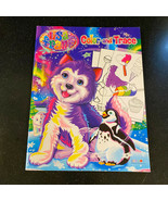 Lisa Frank Color and Trace Coloring Book Siberian Husky New 2012 - £3.86 GBP